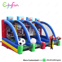 ENJOYFUN Multicolor Inflatable football toy Gonfiabile Inflatable baseball sport game Inflable basketball game toys #IS1016