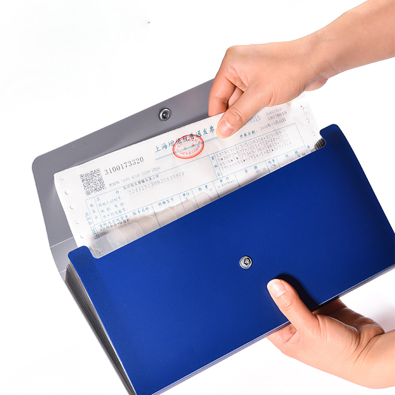 Invoice Check Cheque Folder Organizer