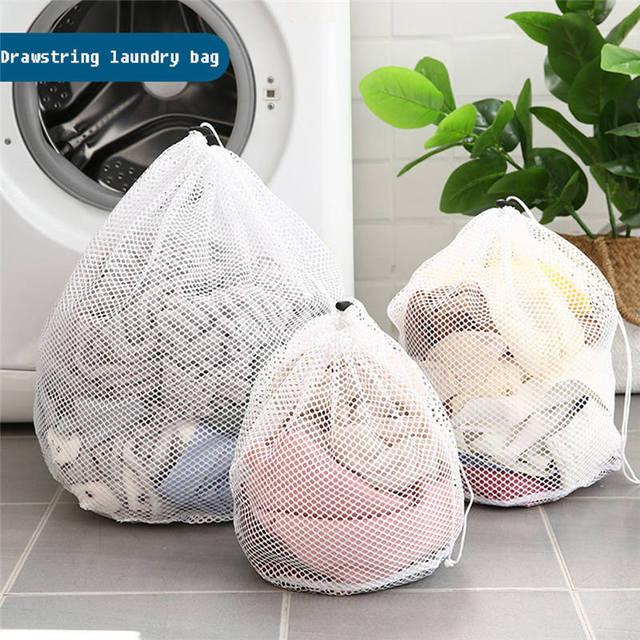 Rede de Proteção Saco de Roupa Cuidados Com a Roupa de Lavagem do banheiro Dobrável Underwear Bra Meias Roupa Interior do Filtro Máquina de Lavar Roupa