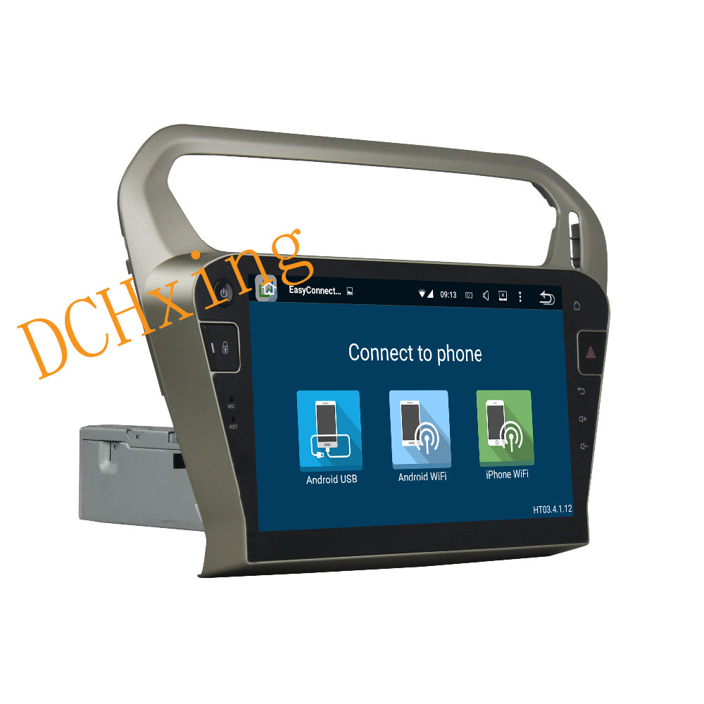 """Clearance 10.1"""" Octa Core Android 9.0 8 core 64G ROM 4G RAM Car DVD Player for Peugeot PG 301 2013-2016 Citroen Elysee GPS Radio 6"""
