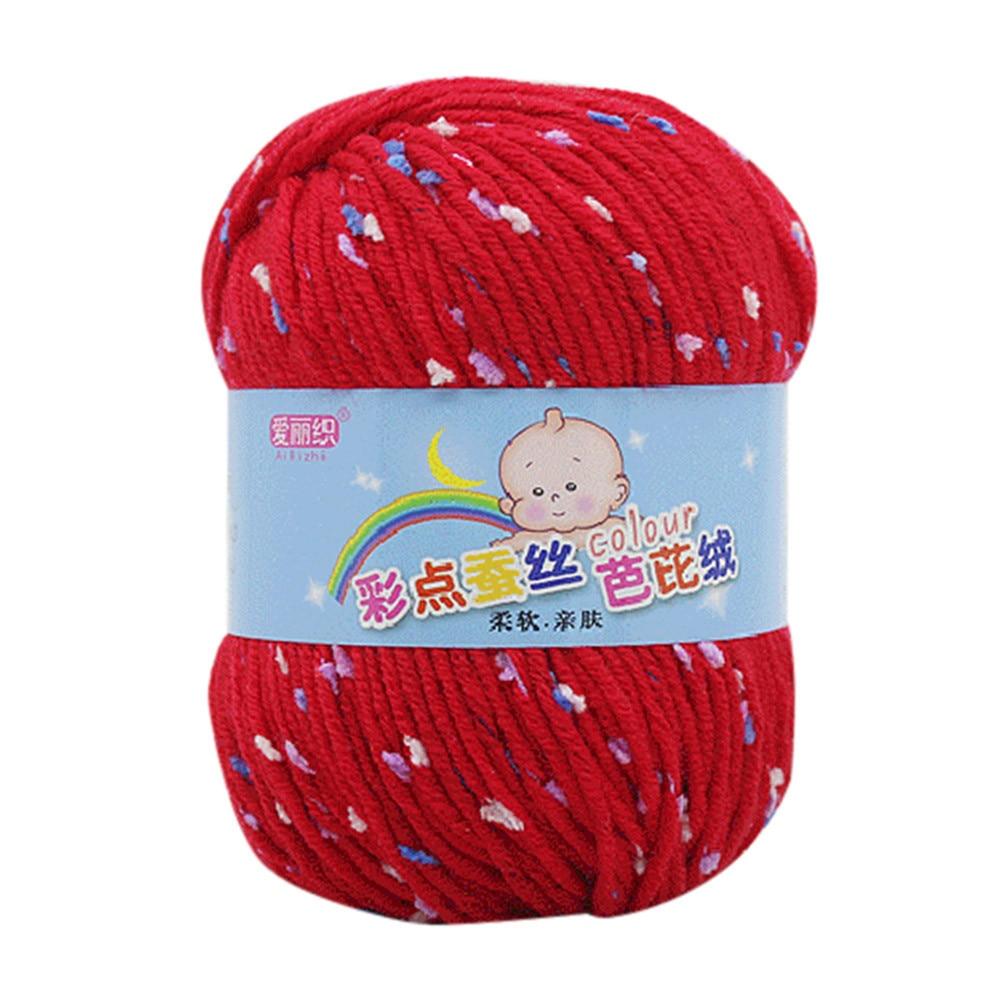 50g Hand Knitting Knicker Yarn Crochet Soft Scarf Sweater Hat Yarn Knitwear Wool .