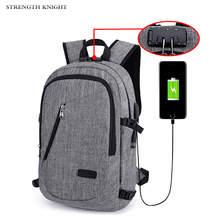 Anti Theft Men Laptop Backpack Usb Charging 16inch Computer Backpacks Casual Style Bags Large Male Business Travel Bag Backpack 2018 men s backpack 10w solar designer backpack usb charging anti theft 15 6 laptop bag men s shoulder travel backpacks