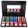 78 Color Eyeshadow Palette With Blusher Contour Powder Lipgloss Fashion Eye Shadow Pallete Makeup Set 2