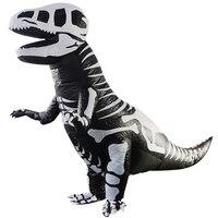 2 3M Inflatable Dinosaur Costume Fantasia Adulto Halloween Cosplay Dinosaur Costumes Adults Disfraces Adultos T REX