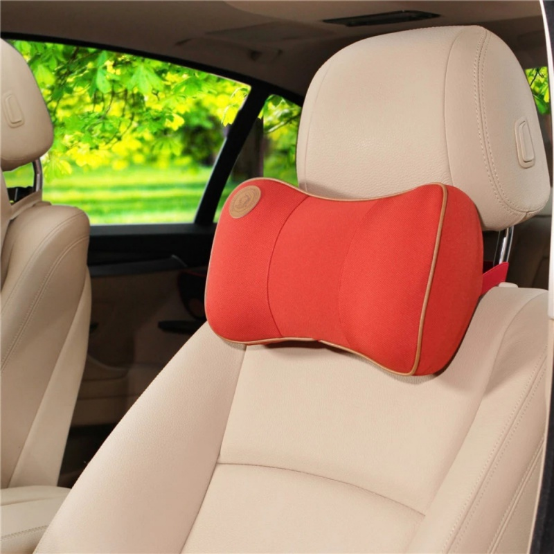 Car Memory Foam Car Neck Pillow Comfortable Pillow Car Seat Headrest Comfortable Neck Cushion For BMW For Audi New