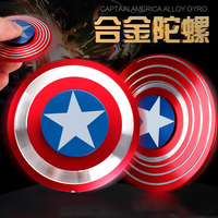 DHL Free 100pcs/lot Avengers Captain American EDC Fidget Hand Spinner Finger Spiner Collection Puzzle Toys As Halloween Gift