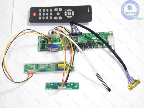 Controller Board Adapter Kit for 1280X800 LP141WX5 C1 TL HDMI+DVI+VGA+Audio