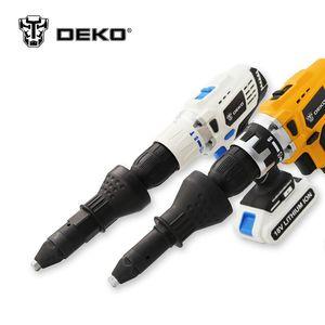 DEKO Электрический инструмент для заклепок, инструмент для заклепок, беспроводной адаптер для заклепок, инструмент для заклепок, адаптер для ...
