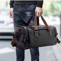 Big Travel Bag Large Capacity Men Hand Luggage Duffle Fitness Bags Weekend Totes Trip Shoulder Overnight Purse Organizer