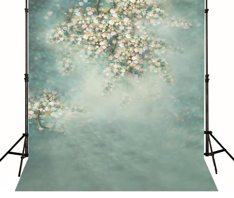 Baby Shower Vintage Spring Flower Green backdrop Vinyl cloth High quality Computer printed wall  photo studio background white marble photo backdrop vinyl cloth computer printed wall photo studio background