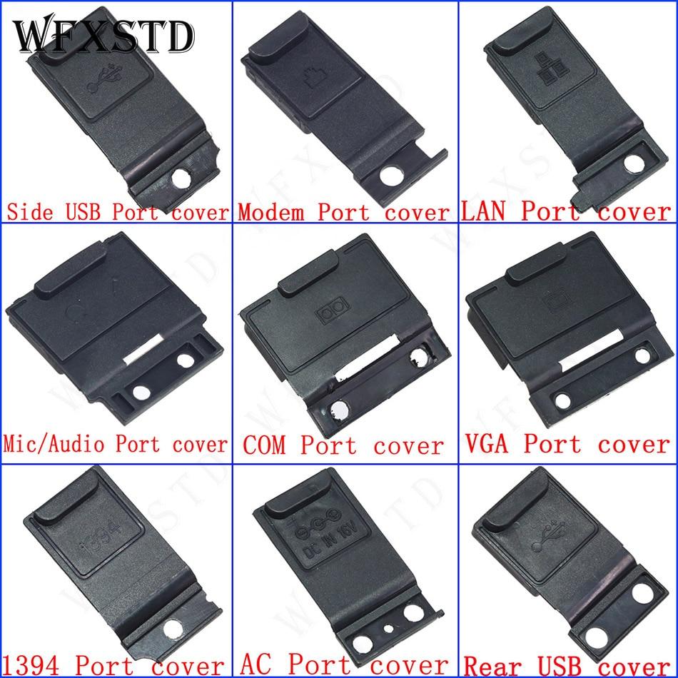 Nouveau 9 pièces couverture de prise pour Panasonic hardbook CF-19 CF19 CF 19 AC DC-IN Audio USB COM LAN Modem Mic VGA 1394 Port couverture