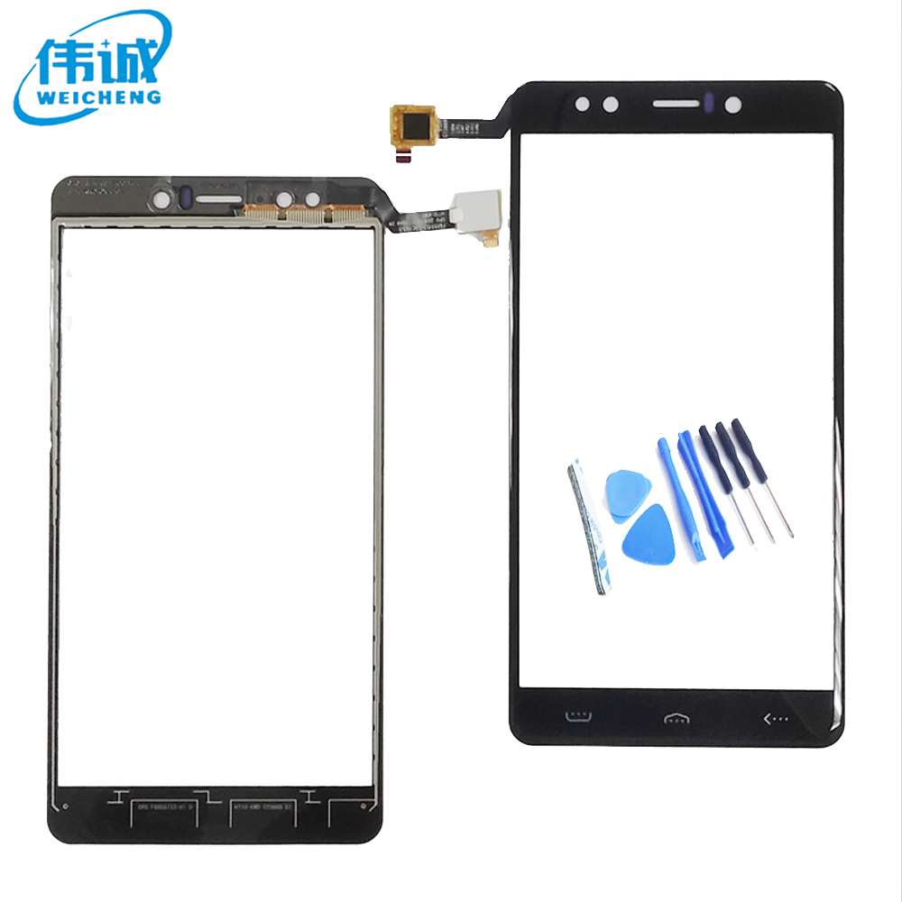 WEICHENG Top Quality For <font><b>Homtom</b></font> HT10 Touch Screen Digitizer 100% Tested Well WEICHENG Digitizer Glass Panel Replacement HT <font><b>10</b></font> image