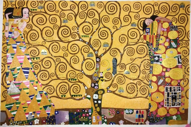 High Quality Famous Gustav Klimt Trees Oil Paintings Reproduction