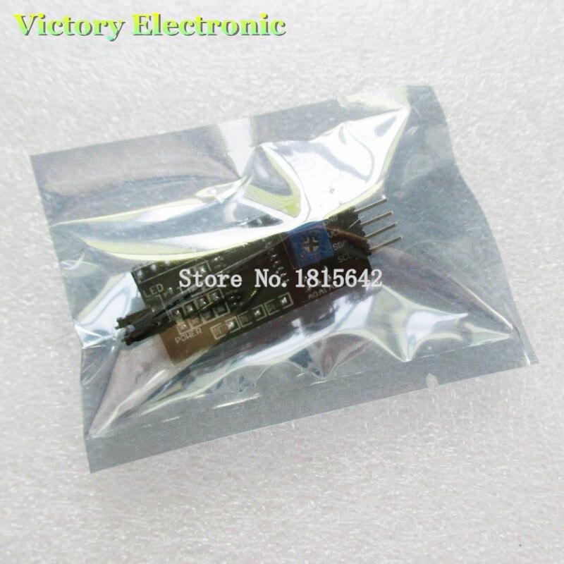 Новый IIC/I2C/интерфейс LCD1602 1602A 2004 ЖК-адаптер пластина оптовая продажа электроники