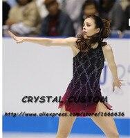 Crystal Custom Figure Skating Dresses Girls New Brand Ice Skating Dresses For Competition DR4542