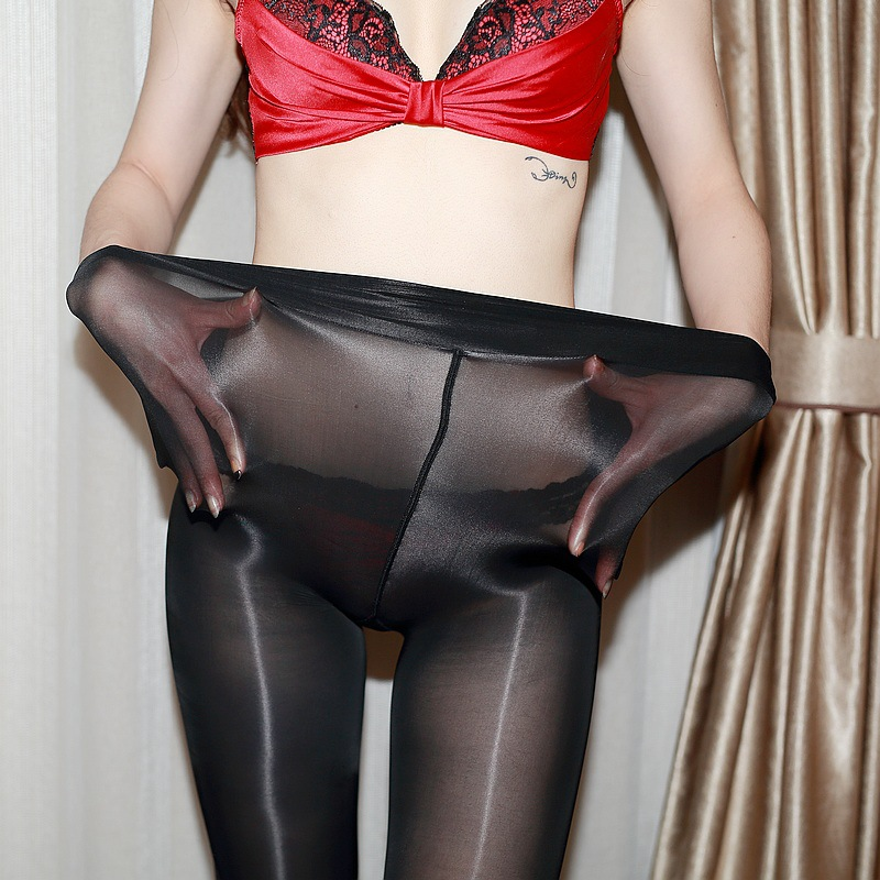 Jumpsuits Brave Classic Hottest Womens Sheer Sexy Shiny Glossy Stocking Oil Pantyhose Tights At All Costs