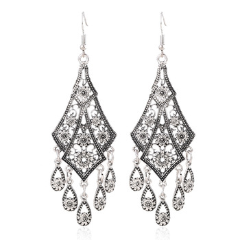 Bohemian Vintage Drop Earrings