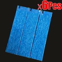 6pcs אוויר מטהר חלקי מסנן עבור DaiKin MC70KMV2 סדרת MC70KMV2N MC70KMV2R MC70KMV2A MC70KMV2K MC709MV2 KAC998A4 מסננים
