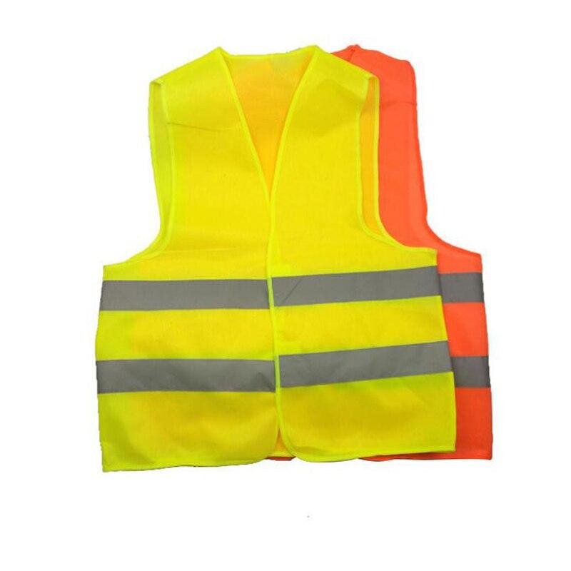 10 PCS Gilet Réfléchissant Vêtements de Travail Offre Une Grande Visibilité Pour la Course Avertissement de Sécurité Gratuite Livraison epacket Ont Le Spot
