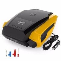 Portable Tire Inflator Pump 12V 150 PSI Auto Digital Electric Emergency Air Compressor Pump For Car