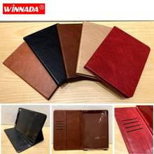For ipad 9.7 2017 case luxury PU leather Stand Protective coque card slots TPU Cover for ipad air /air 2/pro 9.7/ ipad 9.7 2018 стоимость