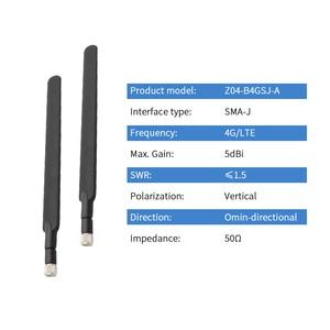 Image 2 - Antena 4G LTE para enrutador B315 B310 externo de alta ganancia 5dBi WIFI Antena B593 E5186 flexible SMA macho aérea ziisor Z04 B4GSJ A