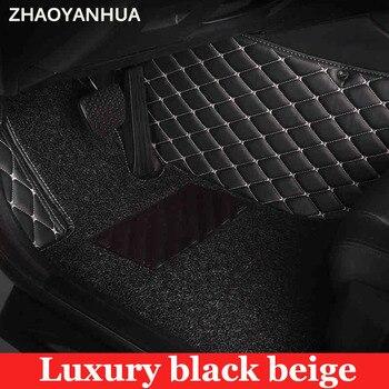 Special make car floor mats for Mazda 2 3 Axela 6 8 5D CX5 CX-5 CX7 5D full cover foot case  carpet anti slip liners