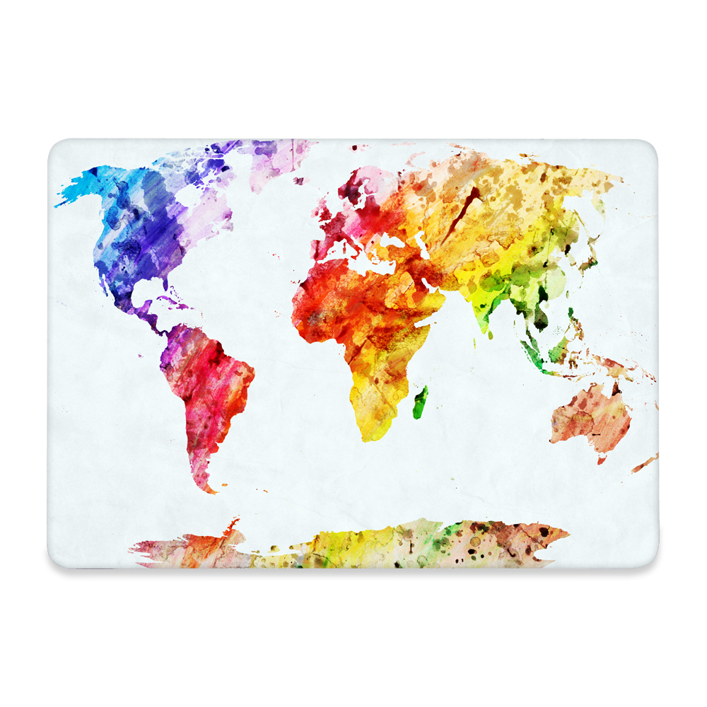 For macbook pro 13 15 with retina 12 shell world map print plactis for macbook pro 13 15 with retina 12 shell world map print plactis hard case gumiabroncs Choice Image