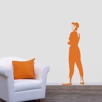 JJRUI Audrey Hepburn Quote Celebrity Vinyl Wall Stickers Art Room Removable Decals DIY Home Decoration