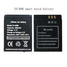 ثماني YX-W9B بطارية للهاتف ساعة بطارية 380 mAh للبطارية dz09 ساعة ذكية