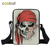 High Quality Mini Messenger Bag Kids Small Shoulder Bags Child Skeleton Cross Body Bags Women S