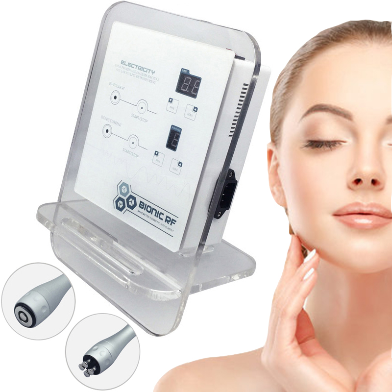 Bipolar Radio Frequency Facial Skin Lifting Beauty Machine RF Electroporation Mesotherapy Wrinkle Removal Skin Care Device