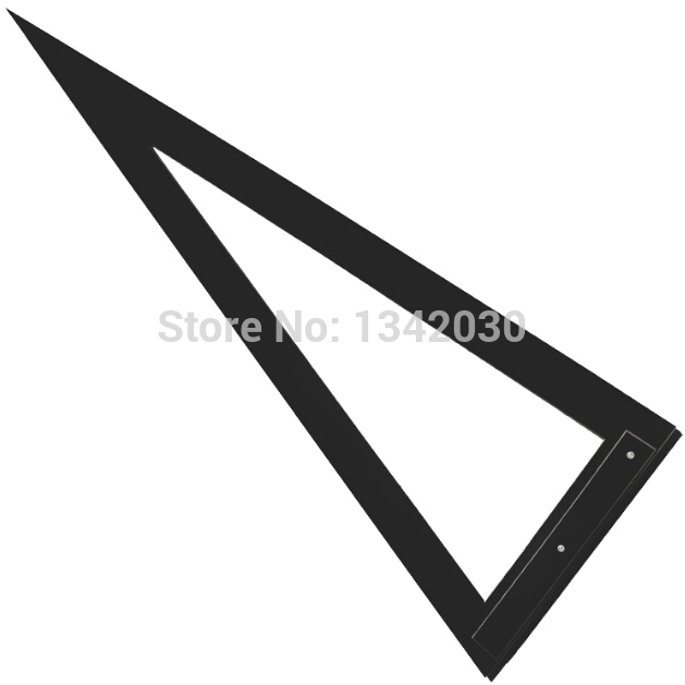 High Quality Glass Tools Triangle Ruler For Glass Cutting 90cm