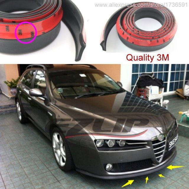 Car Bumper Lip Deflector For Alfa Romeo Brera Spider AR Front - Alfa romeo spider accessories