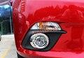 Frente Chrome fog tampa luz guarnição 2 pcs Para Mazda 3 M3 AXELA 2014 2015 Hatchback Sedan