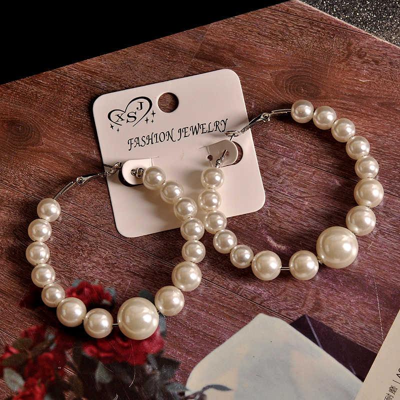 ホットな新スタイルの人気女性ジュエリー卸売誕生日パーティーの真珠のスーツパッケージラウンドイヤリング送料無料