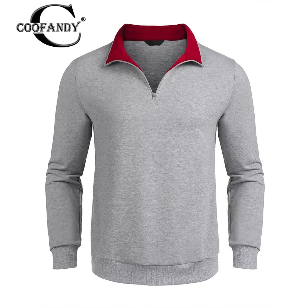 COOFANDY New Arrivals Fashionable Jackets for Men Stand Neck Long Sleeve Warm Contrast Color Jackets Free Shipping