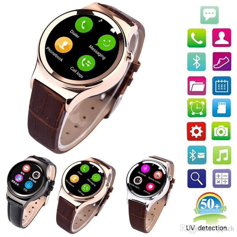 New Arrival Smart Watch T3 font b Smartwatch b font Support SIM SD Card Bluetooth WAP