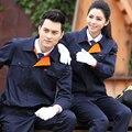 Conjunto de ropa de trabajo masculina otoño y el invierno ropa de trabajo ropa de protección utillaje más tamaño
