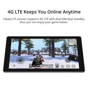 Image 4 - CHUWI Original HiPad LTE MT6797 X27 Deca Core 10,1 pulgadas Android 8,0 3GB RAM 32GB ROM 4G teléfono llame a la tableta 1920*1200 de resolución