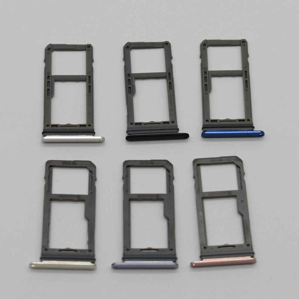 2pcs/lot Single Dual Sim SD card Holder For Samsung Galaxy Note 8 N950 N950F N950FD SIM Card Tray Holder