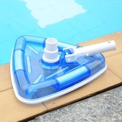 Gruzu z narzędzie do czyszczenia szczotki szczotki do ścieków elastyczne plamy wymienny Spa na świeżym powietrzu ssania pod wodą trójkąt basen głowice próżniowe|Przybory do czyszczenia|   -