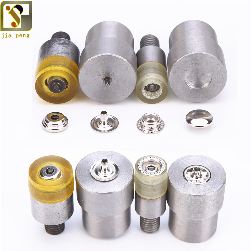 15mm 12.5mm Pressure Snap Button Molds Sewing Repair Dies Metal Snaps Installation Tools 10mm Snap Installation Tools