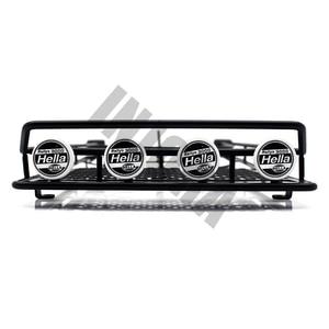 Image 2 - INJORA металлический стеллаж для крыши, светодиодный светильник для 1:10 RC Рок Гусеничный осевой SCX10 и SCX10 II 90046 D90