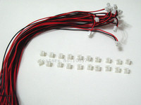 100 SETS Mini Micro JST 2 0 PH 2 Pin Connector Plug With Wires Cables 300MM