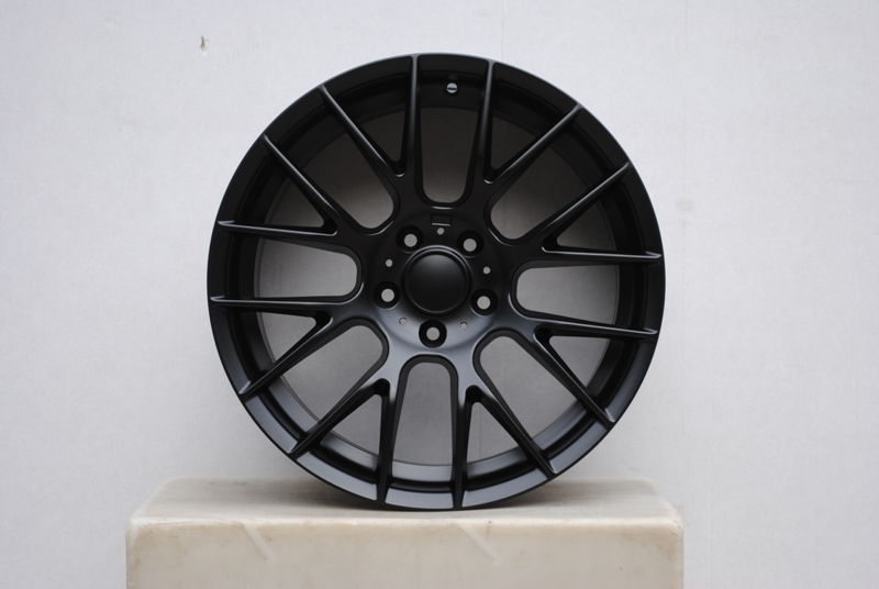 19 Quot Satin Black M3 Gts Style Rims Wheels Staggered Fits