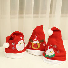 0ecaac4b3d3bc Christmas Baby Hat Thick Ultra Soft Plush Baby Cap Cute Santa Claus Holiday  Fancy Dress Hat