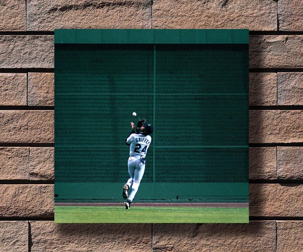 Ken Griffey Jr poster wall art home decoration photo print 24x24 inches