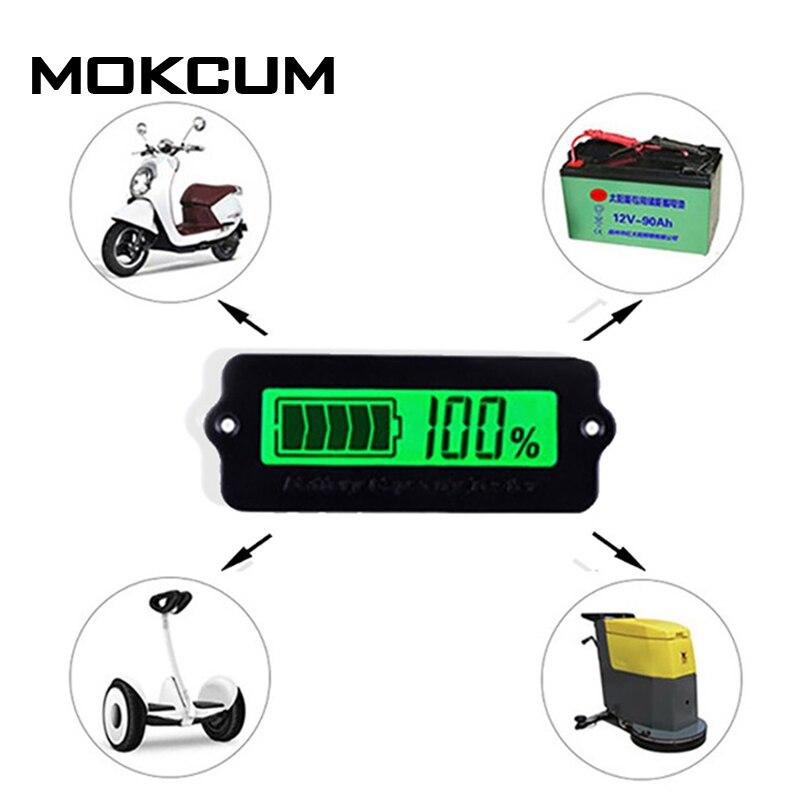 12 V Ly6w Blei Säure Grün Lipo Batterie Kapazität Anzeige Lcd Batterie Kapazität Meter Power Erkennen Digitalen Tester Voltmeter
