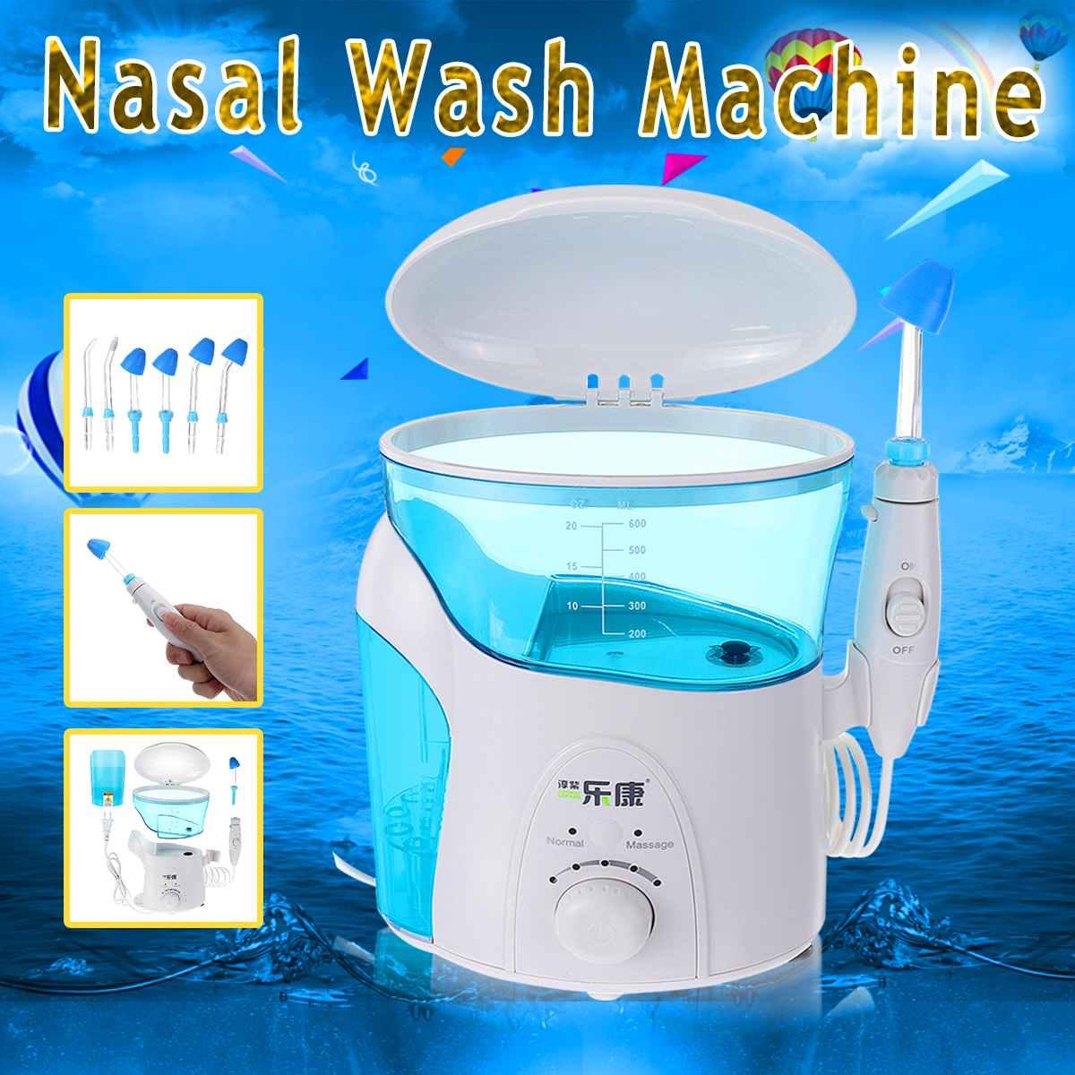 600 ML 12 V 50/60 HZ Machine de nettoyage de nez électrique Hydro Nasal et Sinus système d'irrigation nettoyant adultes enfants salin médical